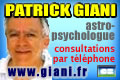 Patrick Giani Astrologue Therapeuthe Astro-psychologue par téléphone